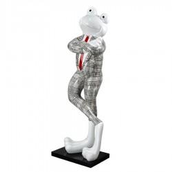 Objet déco statue grenouille EMA H.180 cm