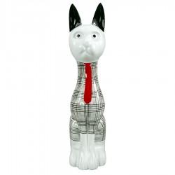 Objet déco statue chat DELCO H.97 cm