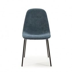 Lot de 4 Chaises NEMO bleues
