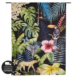 Tenture murale design en coton 145x190cm Roar