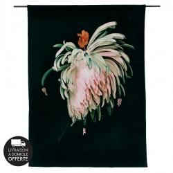 Tenture murale design en coton velours 130x177cm Love