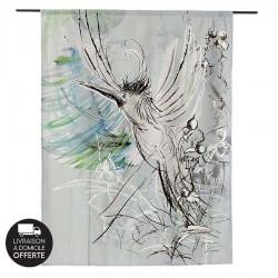 Tenture murale design en coton 145x190cm Free Flight
