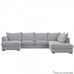 Canapé d'angle avec chaise longue BOHEM