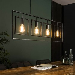 Suspension 4 lampes SQARA