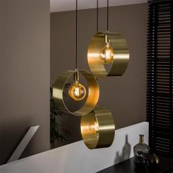 Suspension 3 lampes GOLDIE