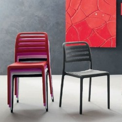 LORETO: Chaise empilable