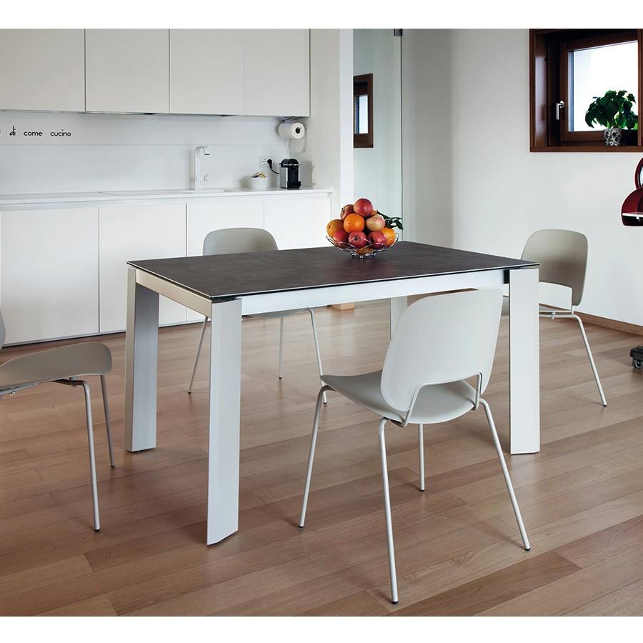 table de sjour extensible elegant kolony table repas extensible blanc table de sjour tables u. Black Bedroom Furniture Sets. Home Design Ideas