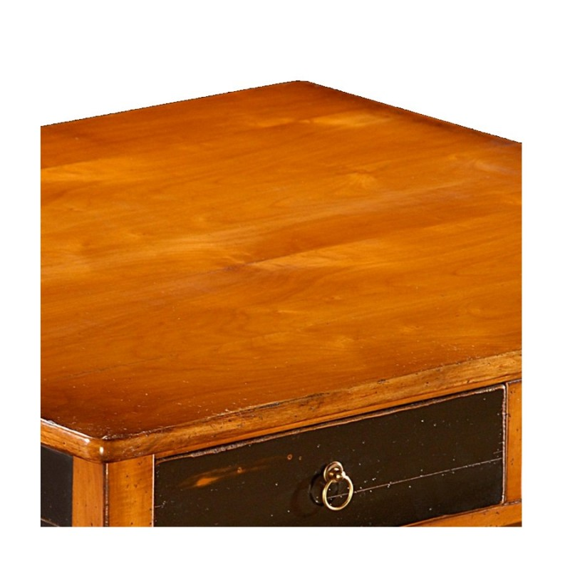 Table basse carree en merisier for Table basse en merisier