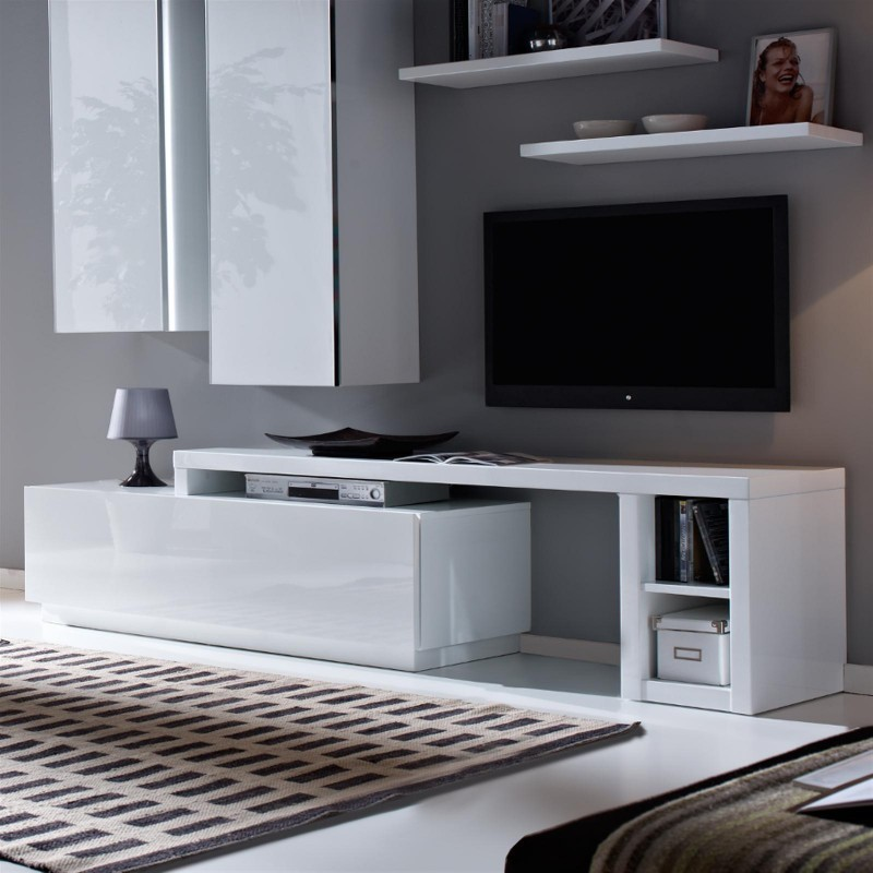 meuble tv modulable conceptions de maison. Black Bedroom Furniture Sets. Home Design Ideas