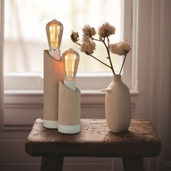 "Lampe à poser ""SHELBY"" H.19cm"