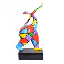 "Sculpture femme ""GLORIA"" H.61cm"