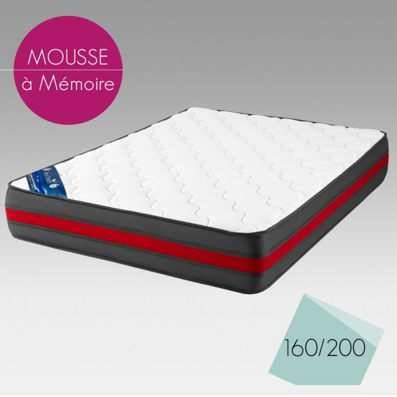 matelas mousse 160x200 maison design. Black Bedroom Furniture Sets. Home Design Ideas