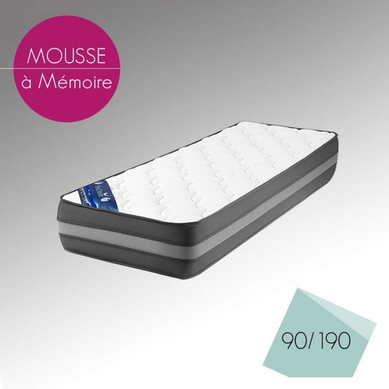 matelas en mousse narada 90x190 cm d f i. Black Bedroom Furniture Sets. Home Design Ideas