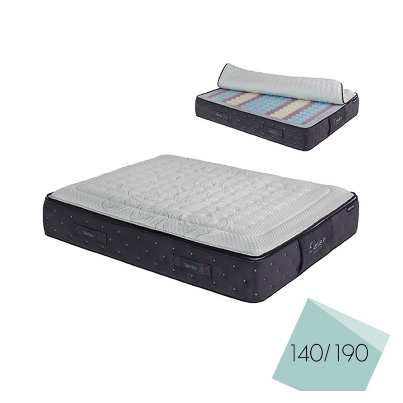 matelas eleven 140 x 190 cm d f i. Black Bedroom Furniture Sets. Home Design Ideas