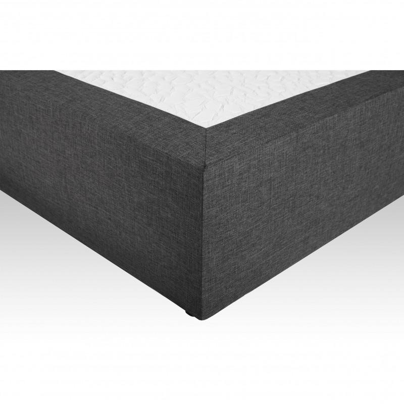 sommier tapissier lattes zdeco30 140x200 cm. Black Bedroom Furniture Sets. Home Design Ideas