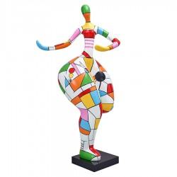 "Sculpture femme ""APPOLINE"" H.140 cm"