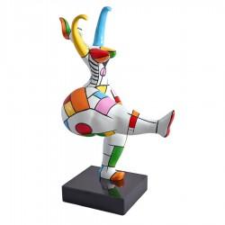 "Sculpture femme ""JEANNE"" H.55 cm"