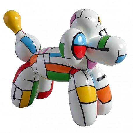 """Sculpture chien """"JOSEPH"""" H.35 cm"""