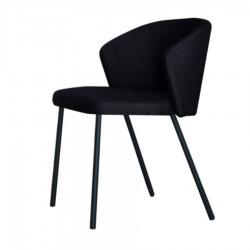 "Chaise ""MAEVA"" noire"