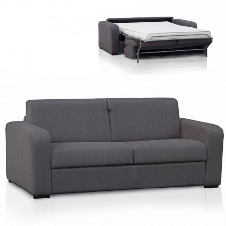 TIZIO : canapé convertible - revêtement tissu