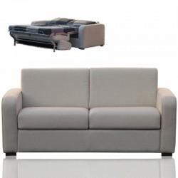 TIZIO : canapé convertible en tissu chenillé