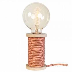 "Lampe à poser ""CHARLY"" orange"