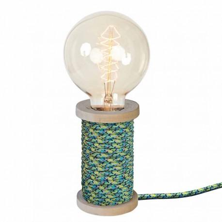 "Lampe à poser ""CHARLY"" multi bleu"