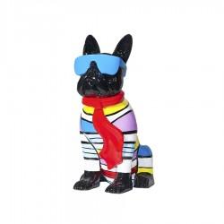 "Sculpture chien ""ROMEO"" H.36cm"