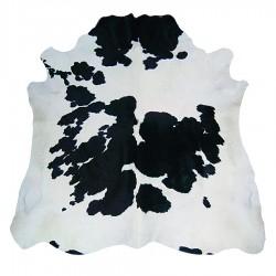 """Peau """"TAUREAU"""" noir et blanc 4m²"""