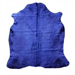 """Peau """"VACA"""" teintée dark blue 4m²"""
