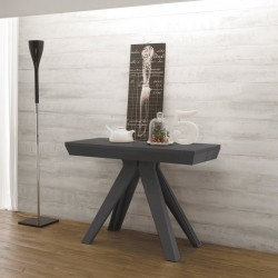 """Table-console extensible """"TURIN"""" anthracite"""