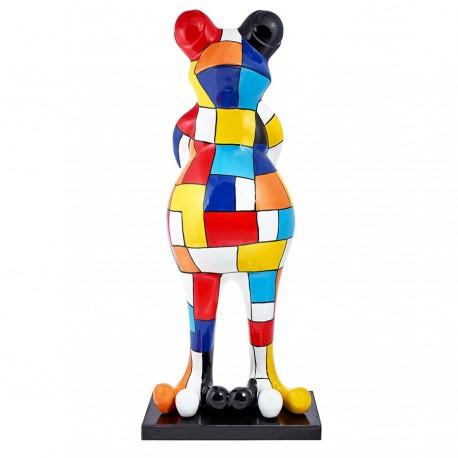 "Sculpture grenouille ""JANIS"" H.140 cm"