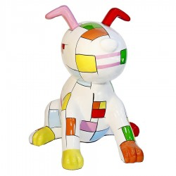 "Sculpture chien ""ZIVAGO"" H.100 cm"