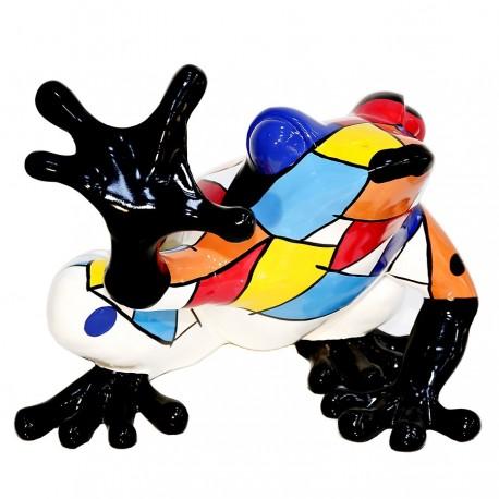 "Sculpture grenouille ""BAHIA"" H.32 cm"