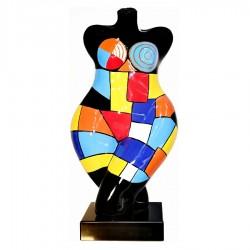 "Sculpture buste ""GIZA"" H.63 cm"