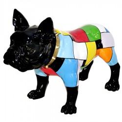 "Sculpture chien ""NEGAN"" H.43 cm"
