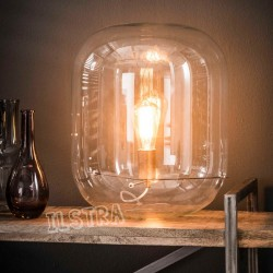 "Lampe de table cloche ""FLAME"""