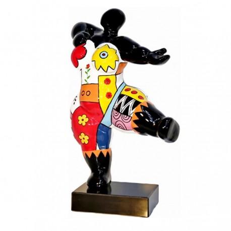 """Sculpture femme """"FANNY"""" H.54 cm"""
