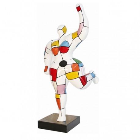 "Sculpture femme ""LEO"" H.88 cm"