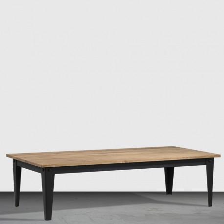 Table basse 4 pieds fuseaux « FACTORY »