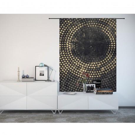 Tenture murale design en coton 145x190cm Cala