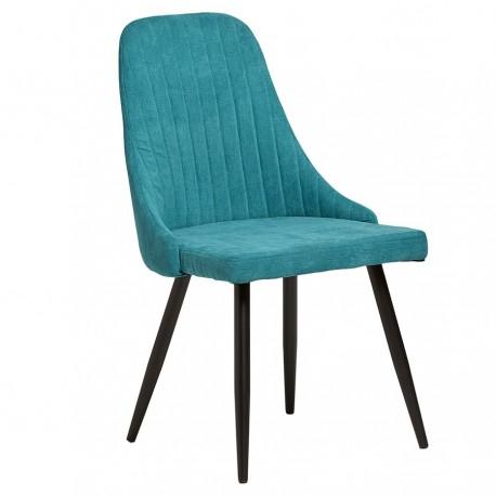 Lot de 2 Chaises « LUCE » turquoise