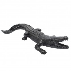 "Sculpture crocodile ""CALEN"" L.70 cm"