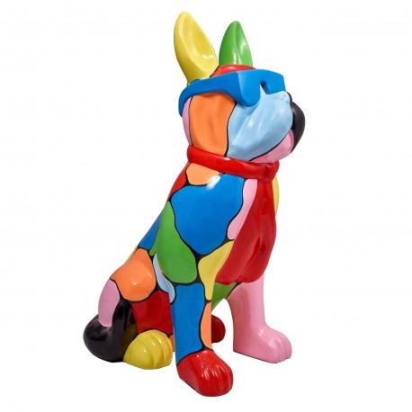 "Sculpture chien ""MAESTRO"" H.102 cm"
