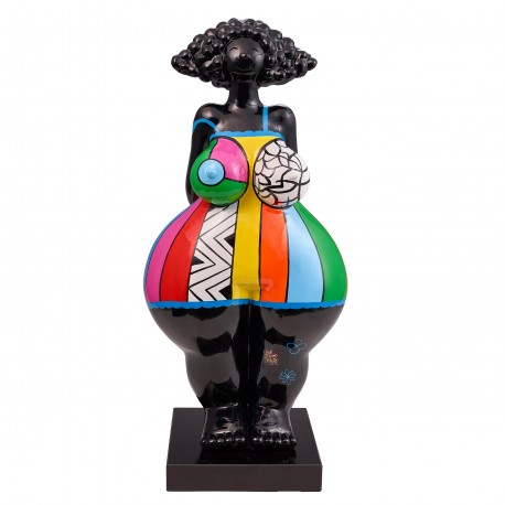 "Sculpture femme ""MANGO"" H.67 cm"