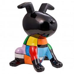 """Sculpture chien """"MARLEY"""" H.51 cm"""