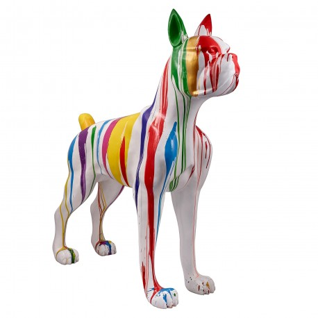 "Sculpture chien XL ""OLIVER"" H.152 cm"