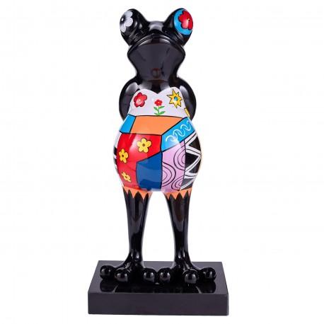 "Sculpture grenouille ""ORIA"" H.68 cm"