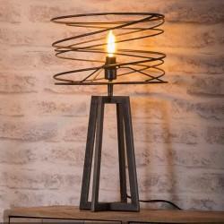 """Lampe à poser en spirale """"TUCK"""""""