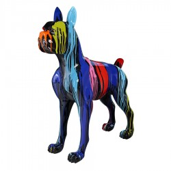 Sculpture chien XL 'MARIO' H.152 cm